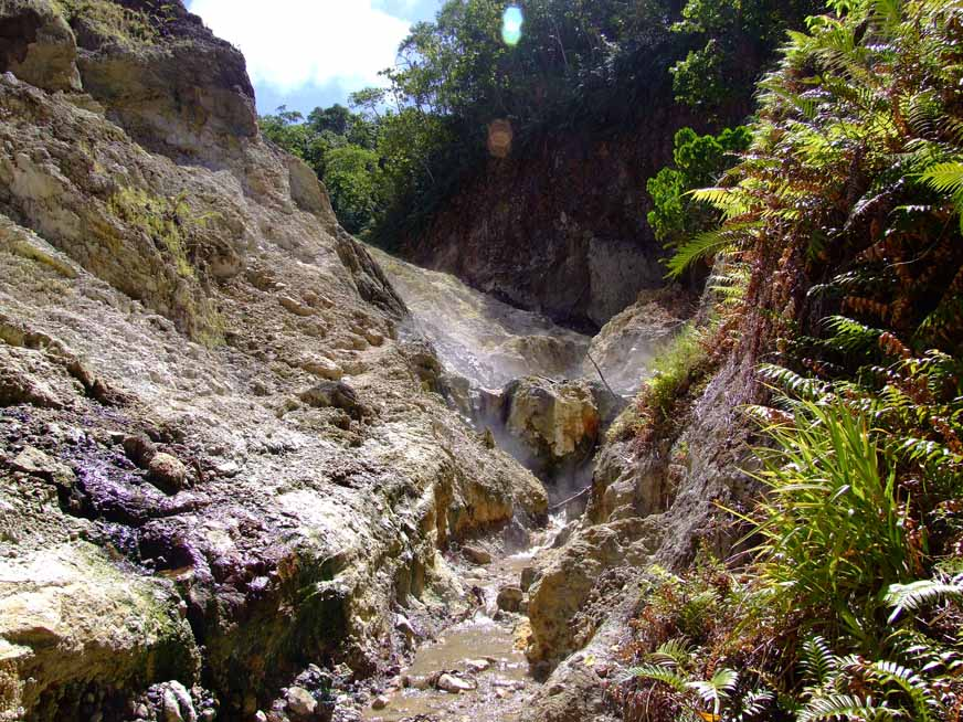 Geothermal springs, Savo volcano, Solomon Islands (D Smith)